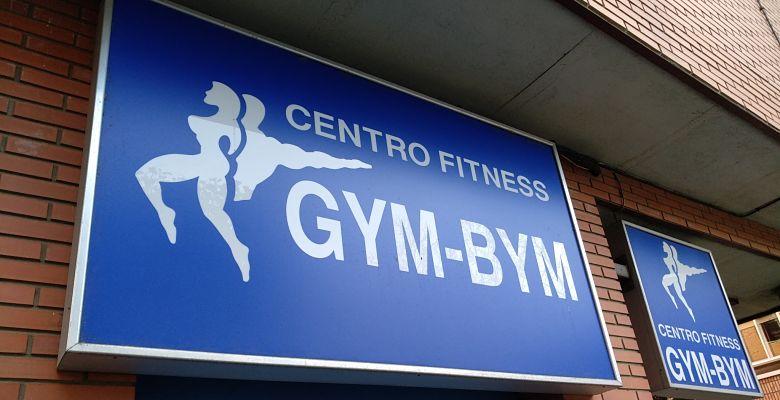 fachada del centro gym-bym